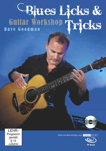 Dave Goodman – Blues Licks & Tricks (DVD & Buch)