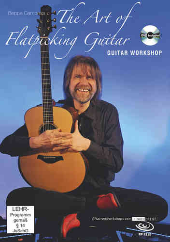 Beppe Gambetta – The Art of Flatpicking Guitar (DVD & book)