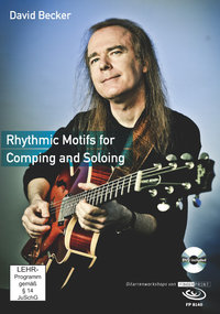 David Becker - Rhythmic Motifs for Comping and Soloing (Buch & DVD)