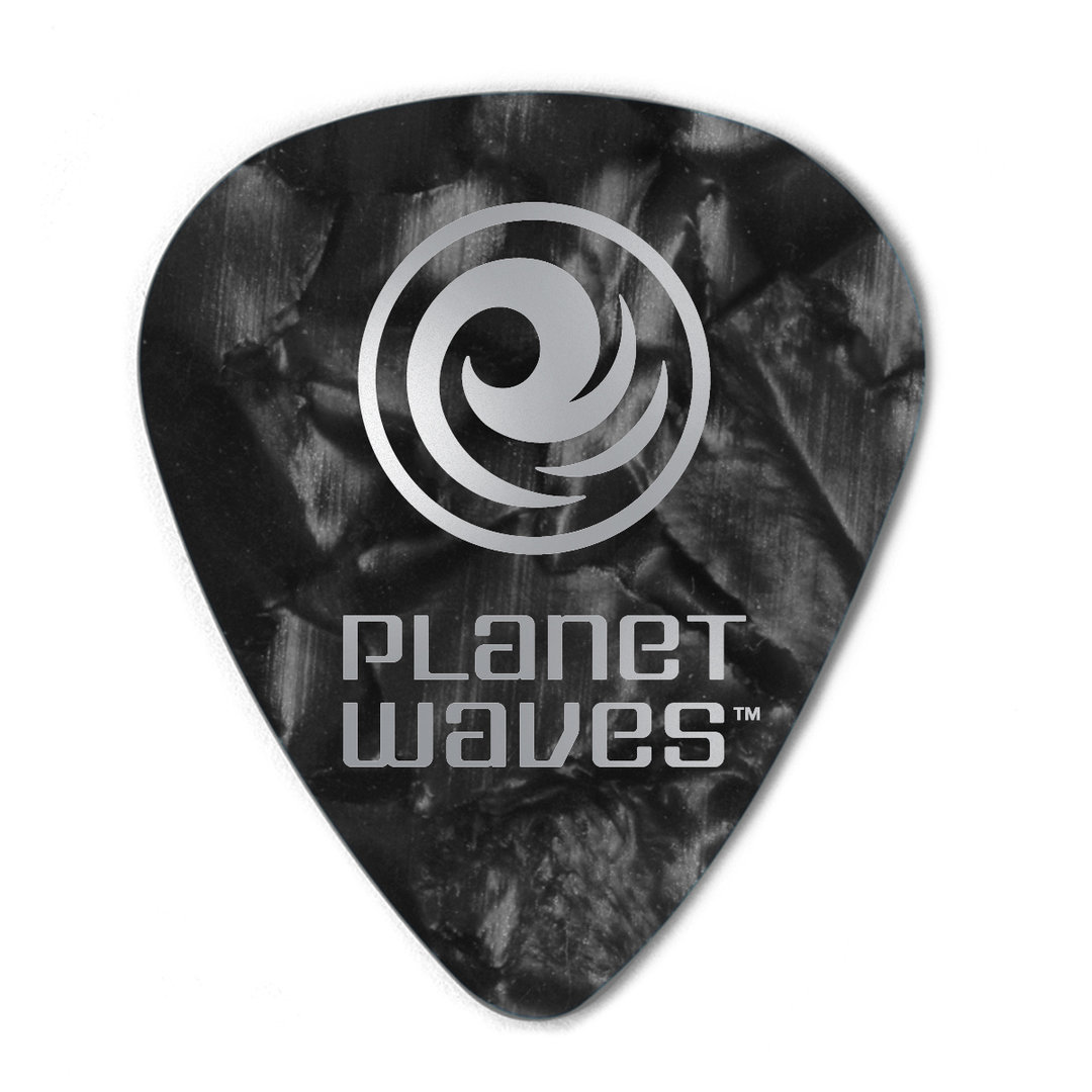 planet waves pearl celluloid picks acoustic music. Black Bedroom Furniture Sets. Home Design Ideas