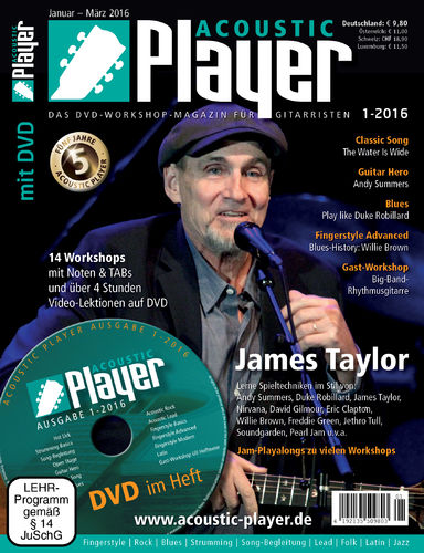 ACOUSTIC PLAYER – Ausgabe 1/2016