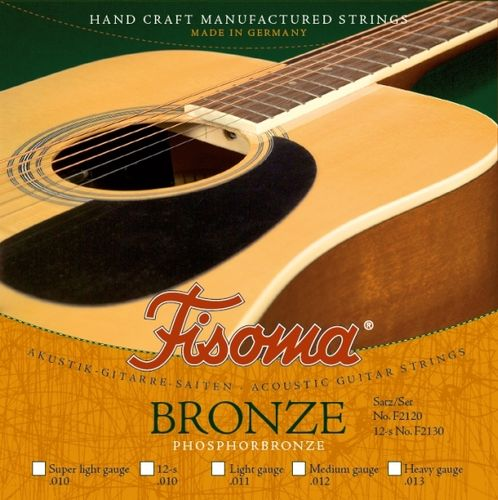 Fisoma Phosphorbronze Strings