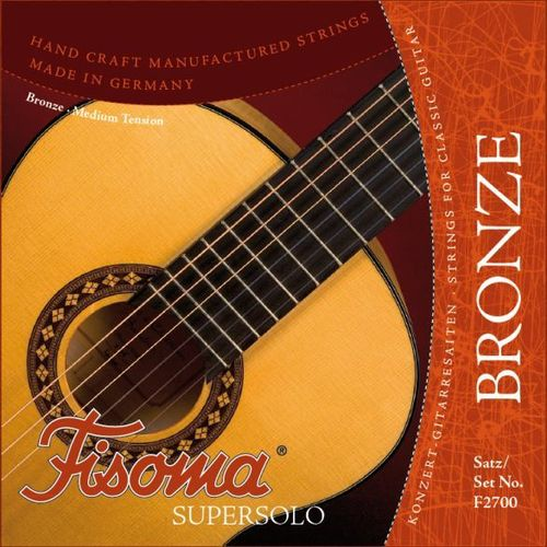 Fisoma Bronze Supersolo - Strings for Classical Guitar