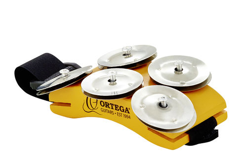 Ortega Foot-Tambourine for Singer/Songwriter
