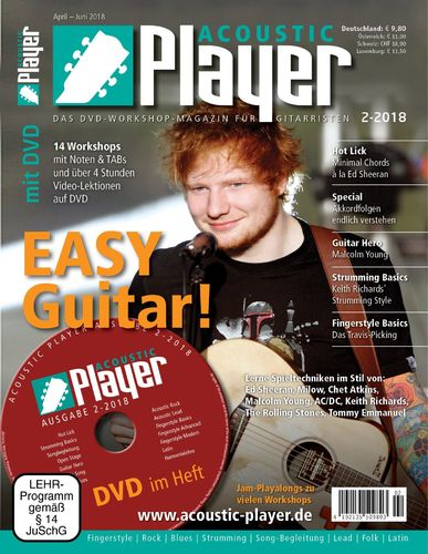 ACOUSTIC PLAYER – Ausgabe 2/2018