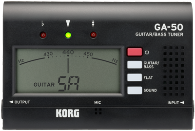 Korg GA-50 Tuner for guitar and bass
