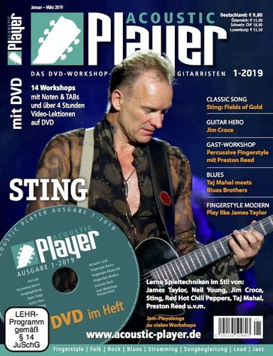 ACOUSTIC PLAYER – Ausgabe 1/2019