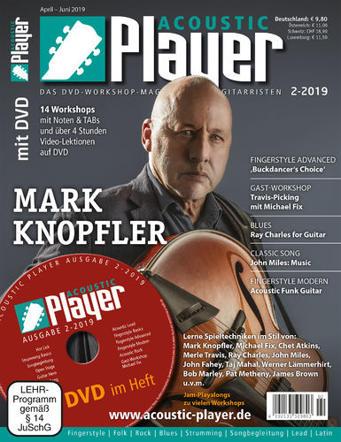 ACOUSTIC PLAYER – Ausgabe 2/2019