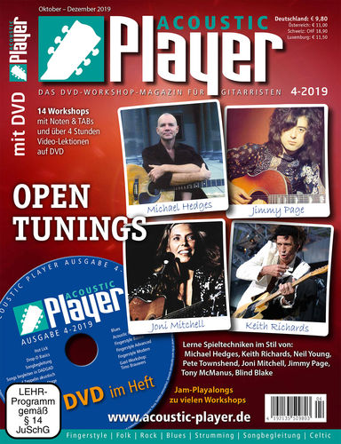 ACOUSTIC PLAYER – Ausgabe 4/2019