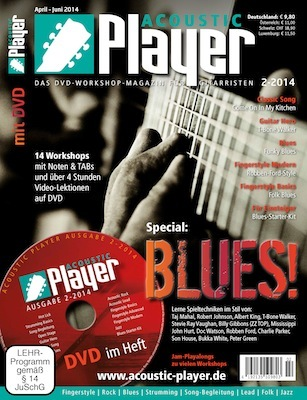 how to play acoustic blues