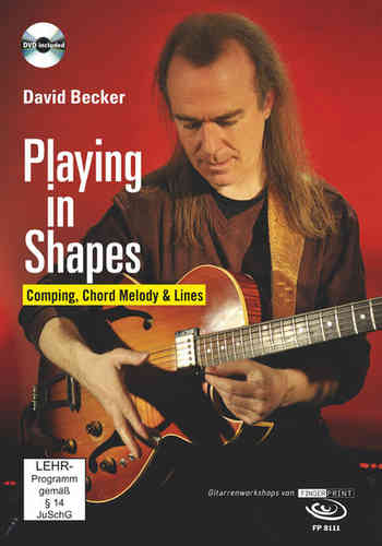 David Becker – Playing in Shapes (DVD & Buch)