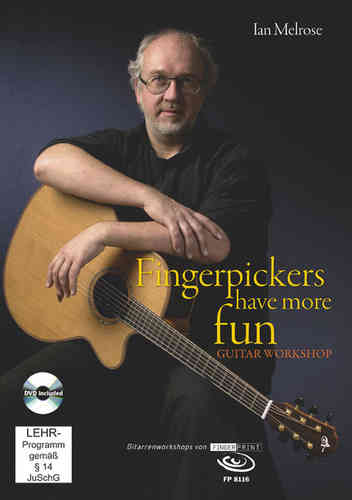 Ian Melrose – Fingerpickers Have More Fun (DVD & Buch)