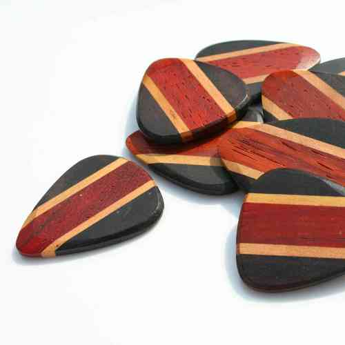 Zone Tones wooden plectrum - Padauk