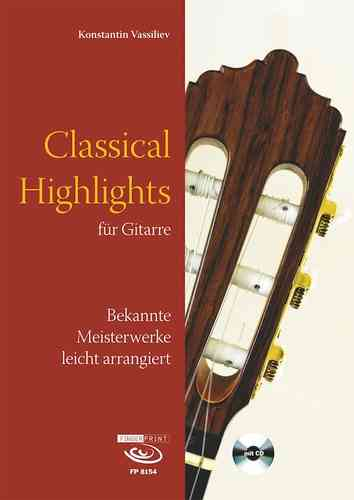Konstantin Vassiliev - Classical Highlights (Music Score & CD)