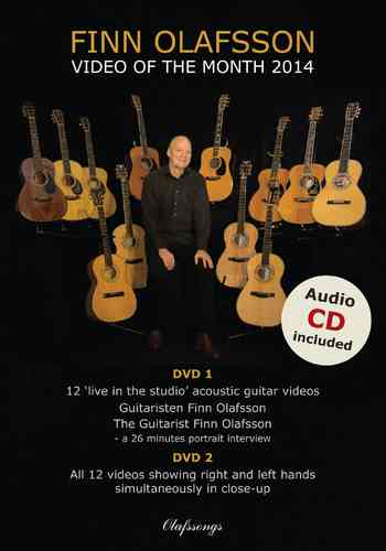 Finn Olafsson - Video of the Month 2014 (Doppel-DVD mit CD)