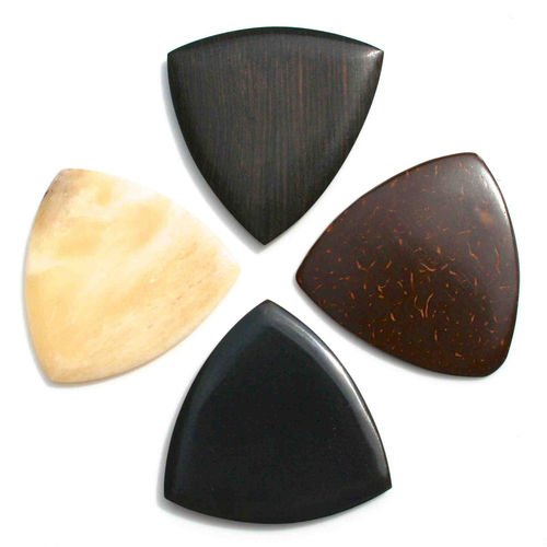 Gypsy Tones Guitar Wood Picks (Pack of 4)