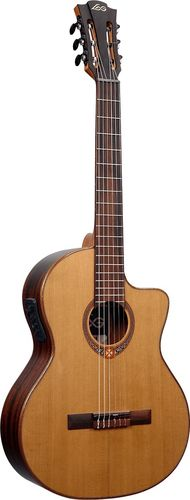 LÂG Occitania 118 Classical Guitar with Cutaway and Pickup - OC118