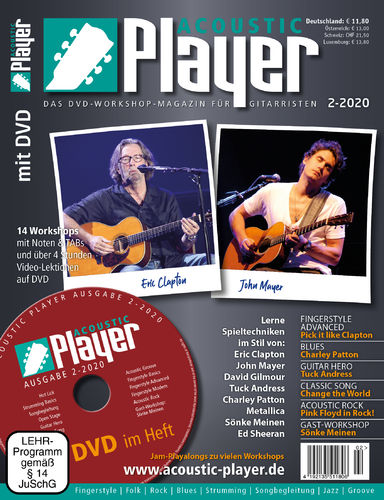 ACOUSTIC PLAYER – Ausgabe 2/2020