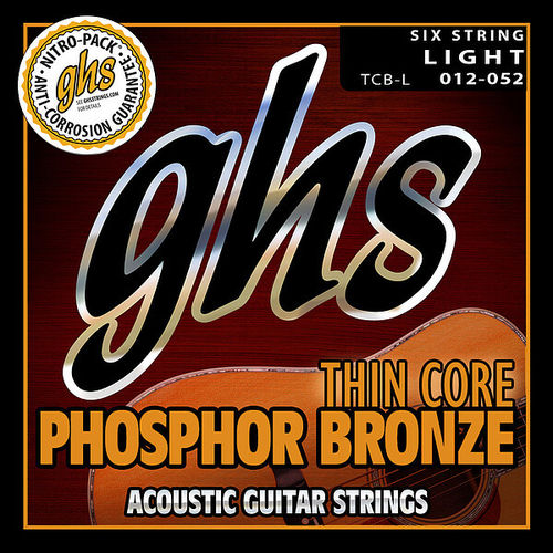 GHS • Thin Core Strings • Light (12-52)